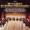 ベルリン・フィルの12人のチェロ奏者たち 第1集    独TELEFUNKEN 2936 LP レコード