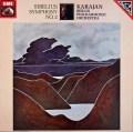 カラヤンのシベリウス/交響曲第2番   独EMI 2936 LP レコード