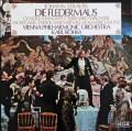 【オリジナル盤】ベームのJ.シュトラウスII世/歌劇「こうもり」全曲  英DECCA 2936 LP レコード