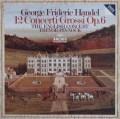 ピノックのヘンデル/12の合奏協奏曲 独ARCHIV 2936 LP レコード