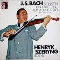 シェリングのバッハ/無伴奏ヴァイオリンソナタとパルティータ 独Dacapo 2936 LP レコード