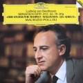 ポリーニのベートーヴェン/ピアノソナタ「テンペスト」、「ワルトシュタイン」&「告別」 独DGG 2937 LP レコード
