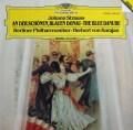 カラヤンのJ.シュトラウス/シュトラウス・コンサート1 独DGG 2937 LP レコード