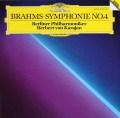 カラヤンのブラームス/交響曲第4番 独DGG 2937 LP レコード