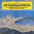 ジュリーニのドビュッシー&ラヴェル/「海」、「スペイン狂詩曲」ほか 独DGG 2937 LP レコード