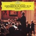 ベームのモーツァルト/交響曲第38番「プラハ」&39番  独DGG 2937 LP レコード