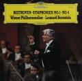 バーンスタインのベートーヴェン/交響曲第1&4番  独DGG 2937 LP レコード