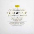 【特別盤】バーンスタインの自作自演/「ソングフェスト」  独DGG 2937 LP レコード