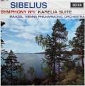 マゼールのシベリウス/交響曲第1番ほか 英DECCA 2937 LP レコード