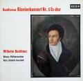 バックハウス&イッセルシュテットのベートーヴェン/ピアノ協奏曲第5番「皇帝」 独DECCA 2937 LP レコード