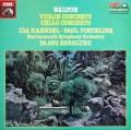 I.ヘンデル、トルトゥリエ&ベルグルンドのウォルトン/協奏曲集 英EMI 2937 LP レコード
