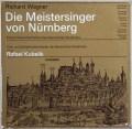 【非売品LP】クーベリックのワーグナー/「ニュルンベルクのマイスタージンガー」全曲 独BR 2937 LP レコード