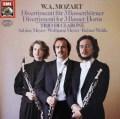 トリオ・ディ・クラローネのモーツァルト/バセットホルンのためのディヴェルティメント   独EMI 2938 LP レコード