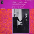 フルトヴェングラー&メニューインのブラームス/ヴァイオリン協奏曲ほか   英EMI 2938 LP レコード
