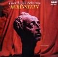 ルービンシュタインのショパン/スケルツォ集   独RCA 2938 LP レコード
