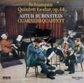 ルービンシュタイン&ガルネリ四重奏団のシューマン/ピアノ五重奏曲   独RCA 2938 LP レコード