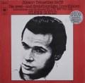 グールドのバッハ/インヴェンションとシンフォニア  独CBS 2938 LP レコード