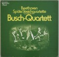 ブッシュ四重奏団のベートーヴェン/後期弦楽四重奏曲集 独EMI 2938 LP レコード