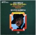 バルビローリのシベリウス/交響曲全集 独EMI 2938 LP レコード