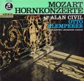 【ドイツ最初期盤】シヴィル&クレンペラーのモーツァルト/ホルン協奏曲 独EMI 2939 LP レコード