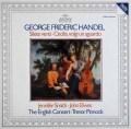 ピノックのヘンデル/「風よ静まれ」&「チェチーリアよ、眼差しを向けたまえ」 独ARCHIV 2939 LP レコード
