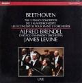 ブレンデル&レヴァインのベートーヴェン/ピアノ協奏曲全集 蘭PHILIPS 2939 LP レコード