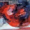 【オリジナル盤】ウェラーのショスタコーヴィチ/交響曲第1&9番 英DECCA 2939 LP レコード