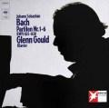 グールドのバッハ/パルティータ集  独CBS 2939 LP レコード