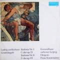 コンヴィチュニーのベートーヴェン/交響曲第1&8番  独ETERNA 2939 LP レコード