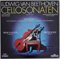 フラショのベートーヴェン/チェロソナタ全集 独intercord 2939 LP レコード