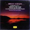 【未開封】カラヤンのシベリウス/交響曲第4・5・6・7番ほか 独DGG 2939 LP レコード