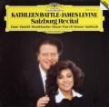 バトル&レヴァインのザルツブルク・リサイタル 独DGG 2940 LP レコード