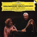 ムター&カラヤンのブラームス/ヴァイオリン協奏曲 独DGG 2940 LP レコード