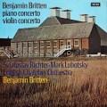 【オリジナル盤】リヒテル、ルボツキー&ブリテンの協奏曲集 英DECCA 2940 LP レコード
