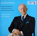 ルービンシュタインのショパン/ピアノ協奏曲第2番  独RCA 2940 LP レコード