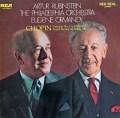 ルービンシュタイン&オーマンディのショパン/ピアノ協奏曲第2番  独RCA 2940 LP レコード