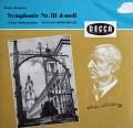 クナッパーツブッシュのブルックナー/交響曲第3番 独DECCA 2940 LP レコード