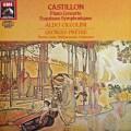 チッコリーニ&プレートルのカスティヨン/ピアノ協奏曲ほか  英EMI 2940 LP レコード