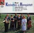 マイヤー&シュナイダーらのモーツァルト/クラリネット&ホルン五重奏曲集  独EMI 2940 LP レコード