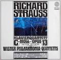 ウィーン・フィル五重奏団メンバーのR.シュトラウス/ピアノ四重奏曲  オーストリアamadeo 2940 LP レコード