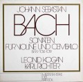 コーガン&リヒターのバッハ/ヴァイオリンとチェンバロのためのソナタ集   独eurodisc 2940 LP レコード