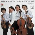 東京クヮルテットのハイドン/弦楽四重奏曲「エルディーティ」 作品76(全曲)   独CBS 2940 LP レコード