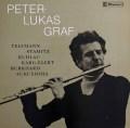 グラーフの無伴奏フルート作品集   スイスclaves 2940 LP レコード