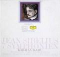 カム&カラヤンのシベリウス/交響曲全集 独DGG 2940 LP レコード