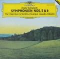 アバドのシューベルト/交響曲第5&6番  独DGG 2941 LP レコード