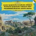 シノーポリのシューベルト/交響曲第8番「未完成」ほか   独DGG 2941 LP レコード