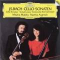 アルゲリッチ&マイスキーのバッハ/チェロ・ソナタ第1〜3番   独DGG 2941 LP レコード