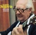 セゴビア/ギター・リサイタル  独Intercord 2941 LP レコード