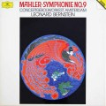 バーンスタインのマーラー/交響曲第9番 独DGG 2941 LP レコード