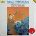 【未開封】バーンスタインのマーラー/交響曲第2番「復活」 独DGG 2941 LP レコード